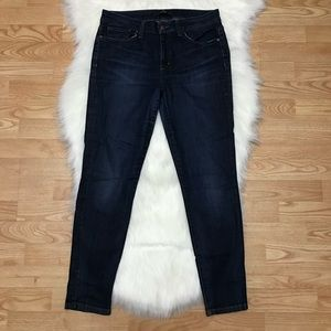 Joe's jeans blue skinny ankle pants